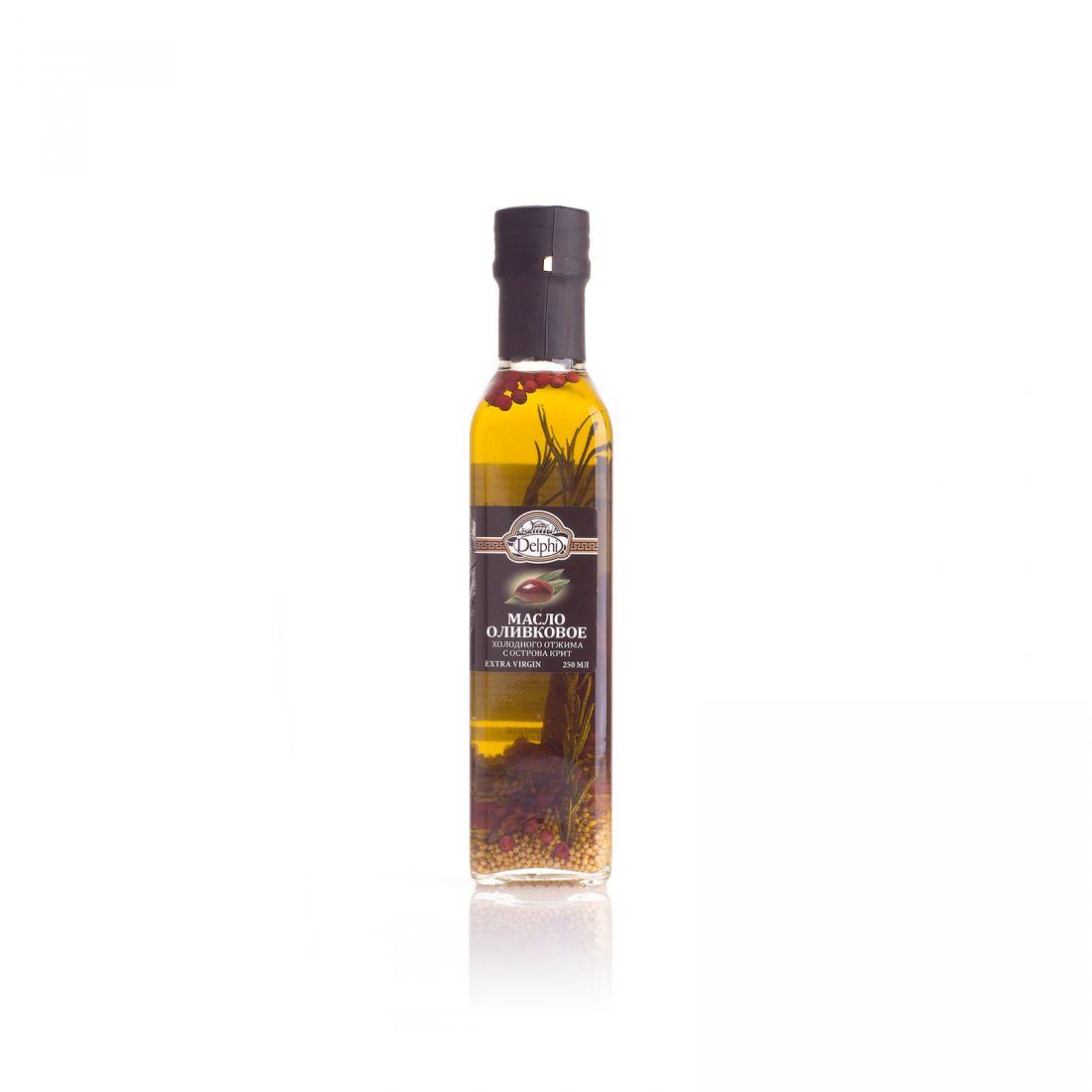 Оливковое масло с травами DELPHI  - 250 мл экстра вирджин