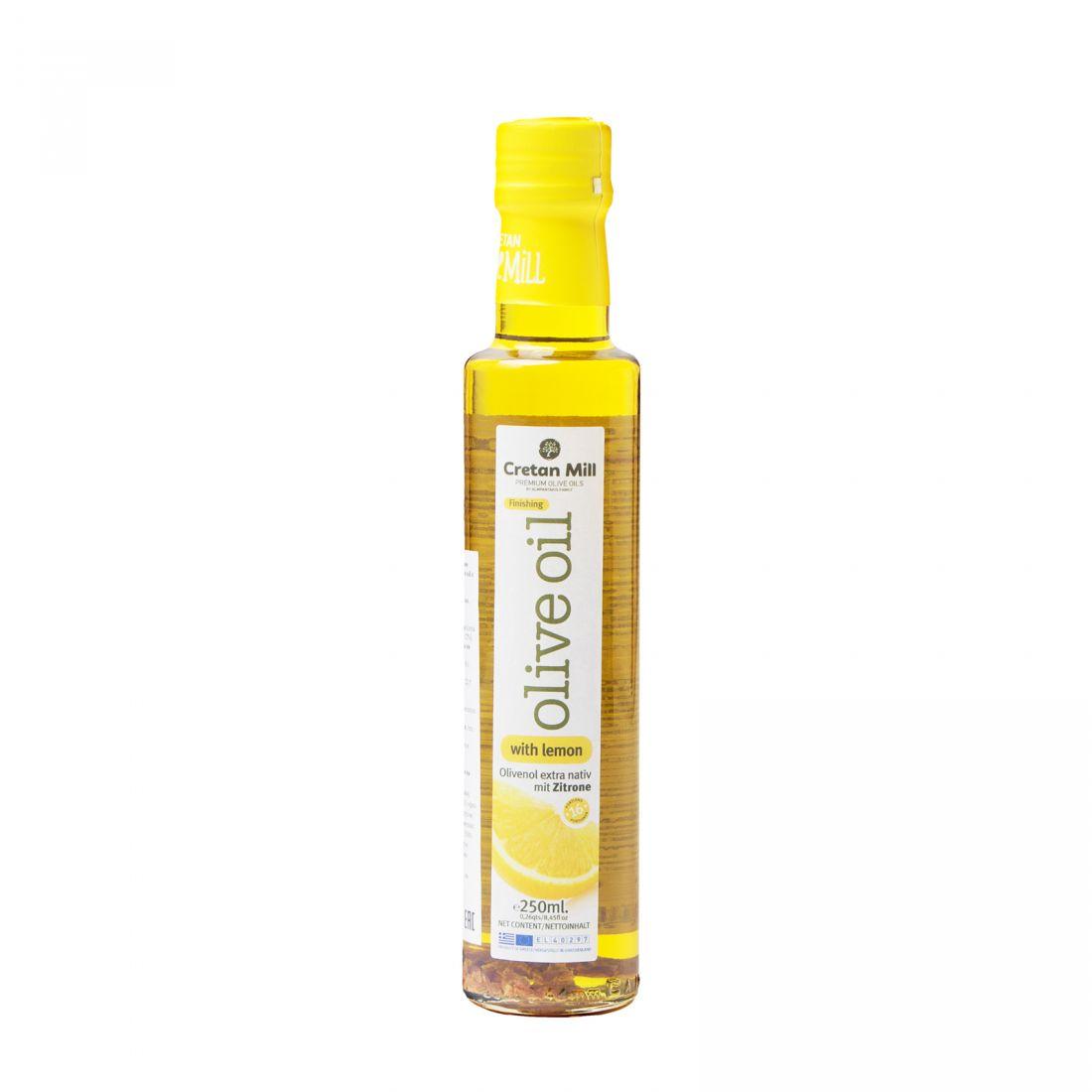 Оливковое масло с лимоном CRETAN MILL  - 250 мл экстра вирджин