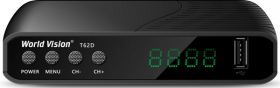 Цифровая эфирная приставка World Vision T62D T2/C