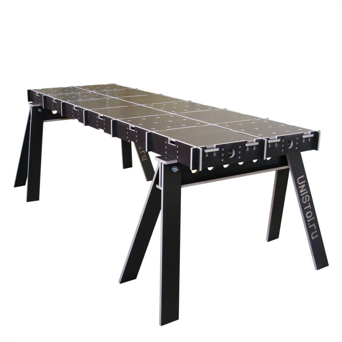 Ячеистый стол для раскроя листовых материалов 2400x800 мм со столешницой