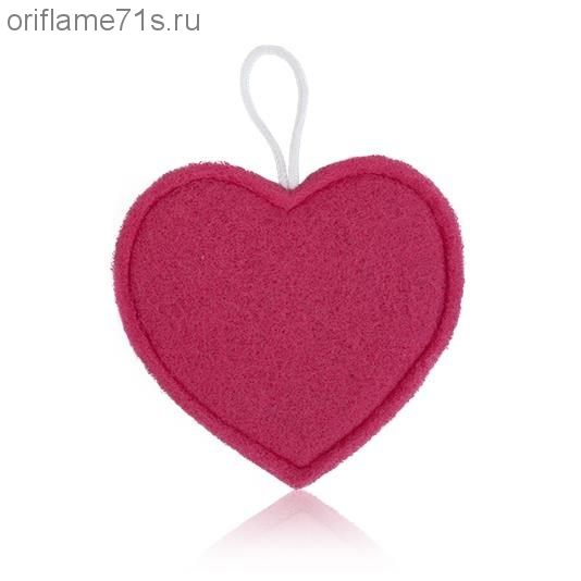 Мочалка «Сердечко»
