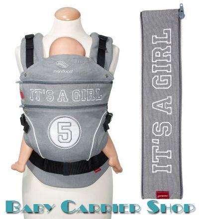 Вставка на молнии в удлинение спинки для слинг-рюкзака MANDUCA Baby And Child Carrier «ZIPIN HighFive It's a Girl» [Мандука ХайФайв-девочка]