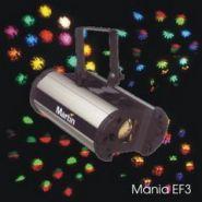 Martin mania EF3, световой эффект, эффект вращения пучка гобированный лучей