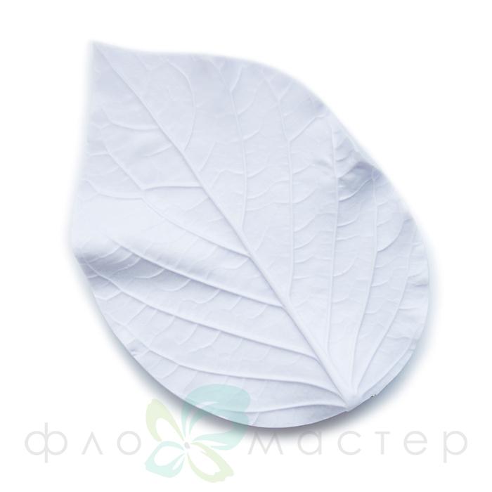 Молд лист гортензии большой