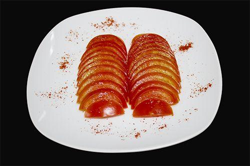 Помидоры с кунжутным маслом