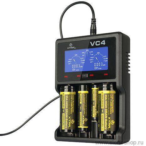 Интеллектуальное зарядное устройство  Xtar VC4