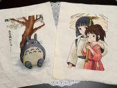 """Схемы для вышивки крестом """"Тоторо"""" и """"Унесенные призраками - 2"""". Отшивы."""
