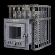 Чугунная печь для бани Гефест ЗК (ПБ-04МС ЗК)