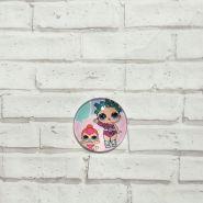 кабошон LOL-9  диаметр 25 мм материал стекло