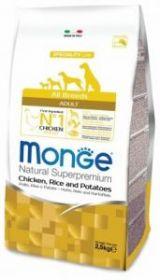 Monge DOG Speciality корм д/собак всех пород курица с рисом и картофелем