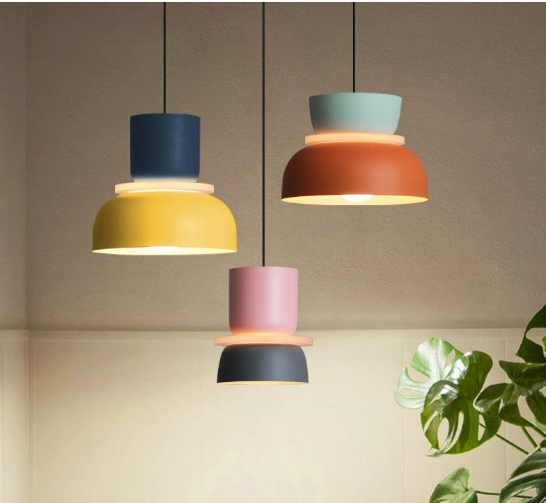 ILO. Подвесной потолочный светильник в скандинавском стиле