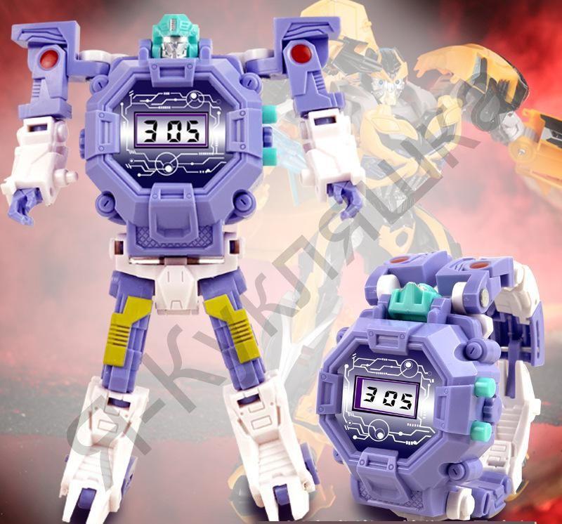 Часы-игрушка трансформер Robot Watch