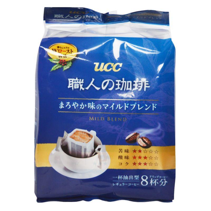 """Кофе UCC """"Shokunin-no coffe"""" Blendy Mild Blend 7гр*8порций"""