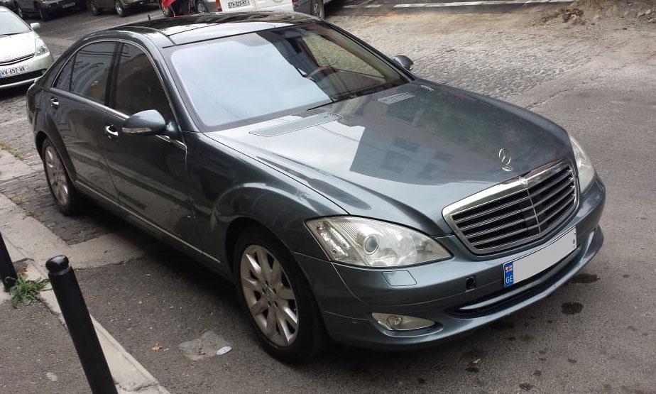 Mercedes S Class (W221) 2007г. 5.5л.