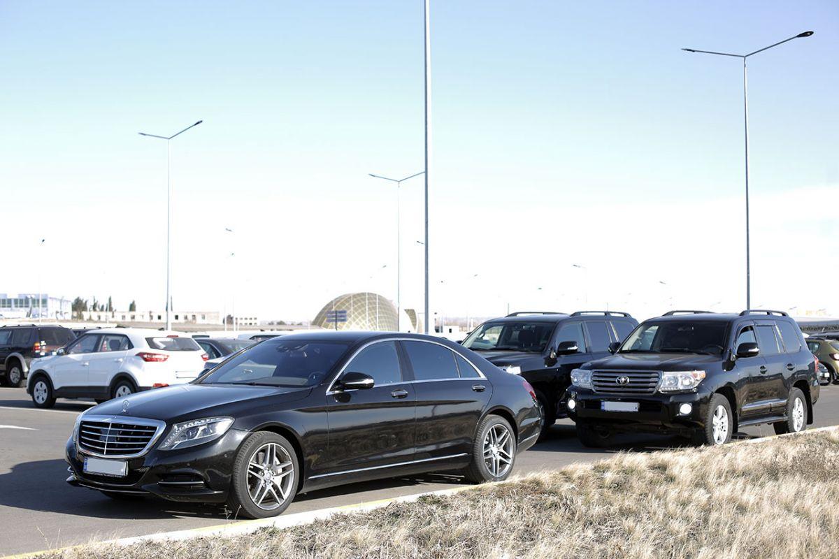 Картеж Mercedes S Class + Сопровождение