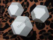 Куб Кристалл пенопластовый 9 см