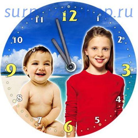 Часы настенные металлические Круг d=190мм