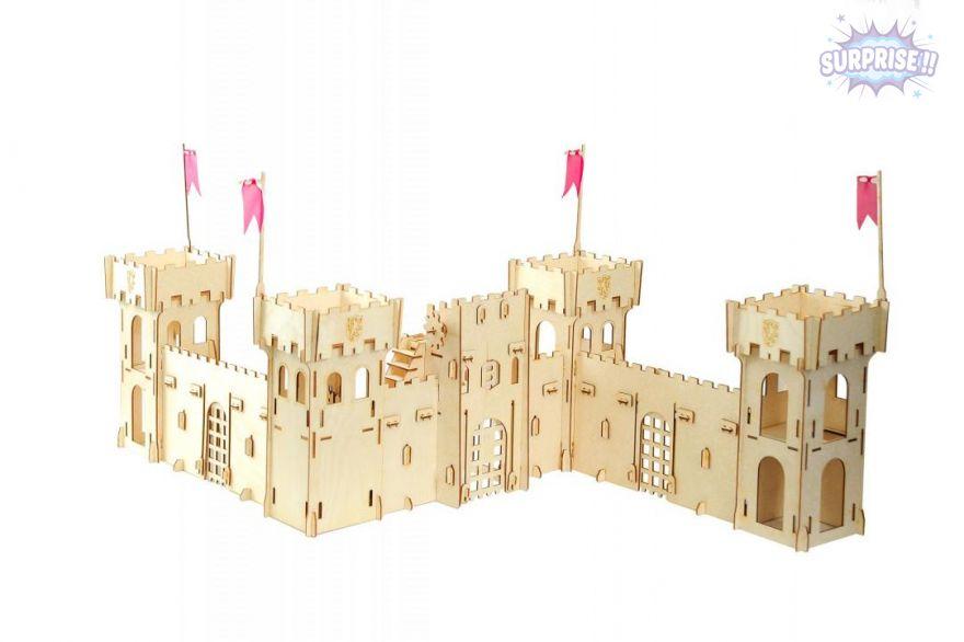 «Чудо-крепость» для рыцарей и солдатиков
