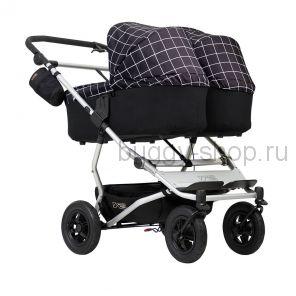 ВЫСТАВОЧНАЯ КОЛЯСКА Duet  (Дует) версия 2018 года, Детская коляска для новорожденной двойни Mountain Buggy Duet 2 в 1 (Маунтин Багги Дует)