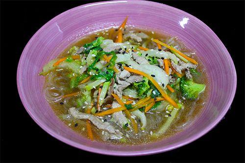 Рамен из говядины по вьетнамски