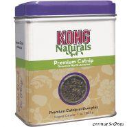 Kong Premium Catnip (1 oz.) Абсолютно натуральный продукт, обладающий антистрессовым действием на кошек, относится к продукции класса «премиум».