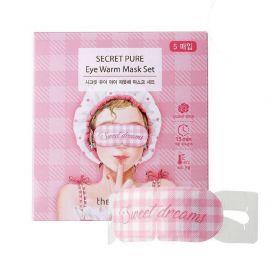 The Saem Secret Pure Eye Warm Mask - тепловая маска для глаз