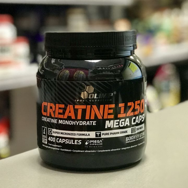Olimp - Creatine Mega Caps (400капс)
