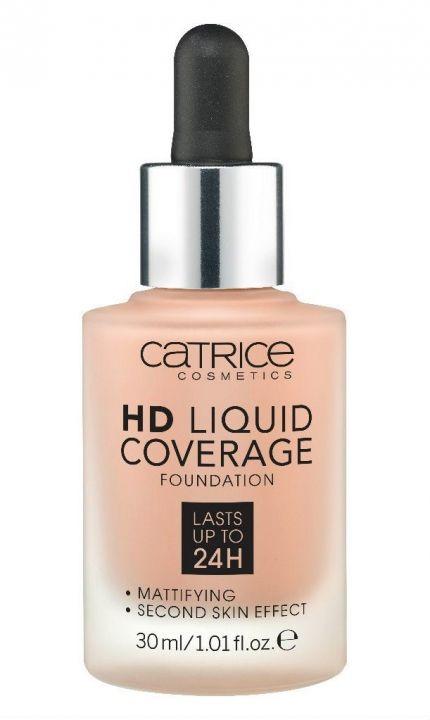 CATRICE Жидкая тональная основа HD Liquid Coverage Foundation