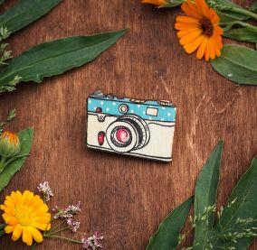 Брошь Фотоаппарат