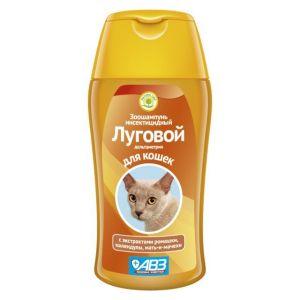 """Шампунь Агроветзащита """"Луговой"""" от блох и клещей для кошек, 180гр"""