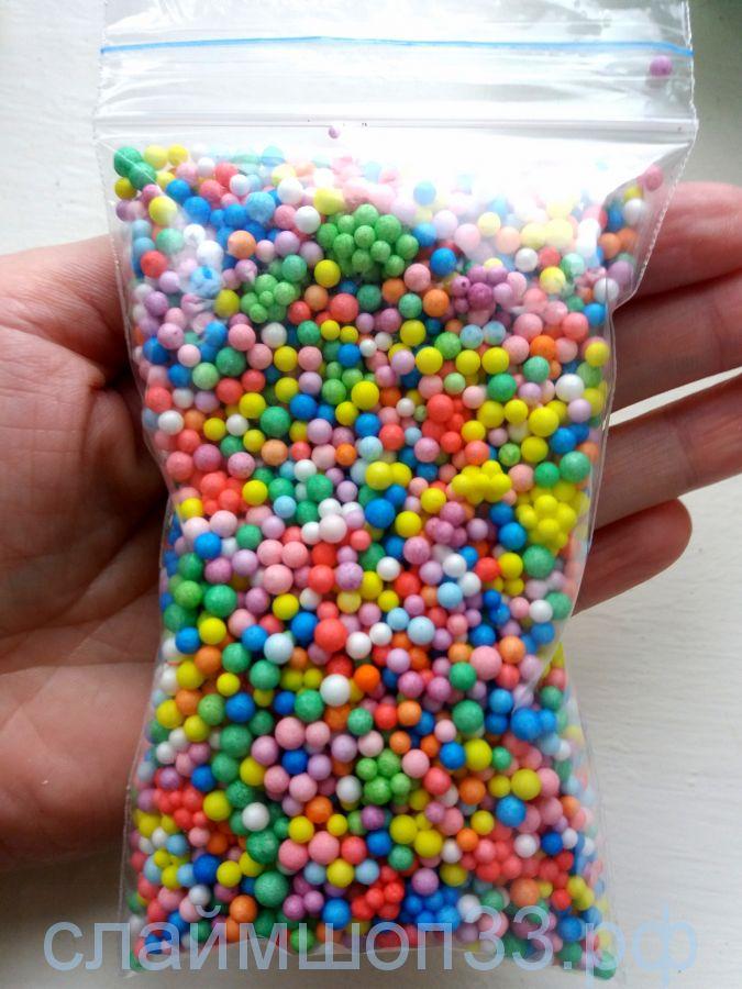 Пенопластовые шарики 2-4 мм