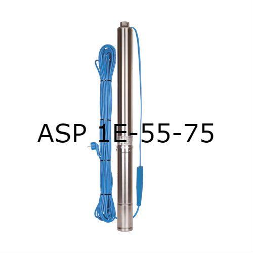 Скважинный насос Aquario ASP 1E-55-75