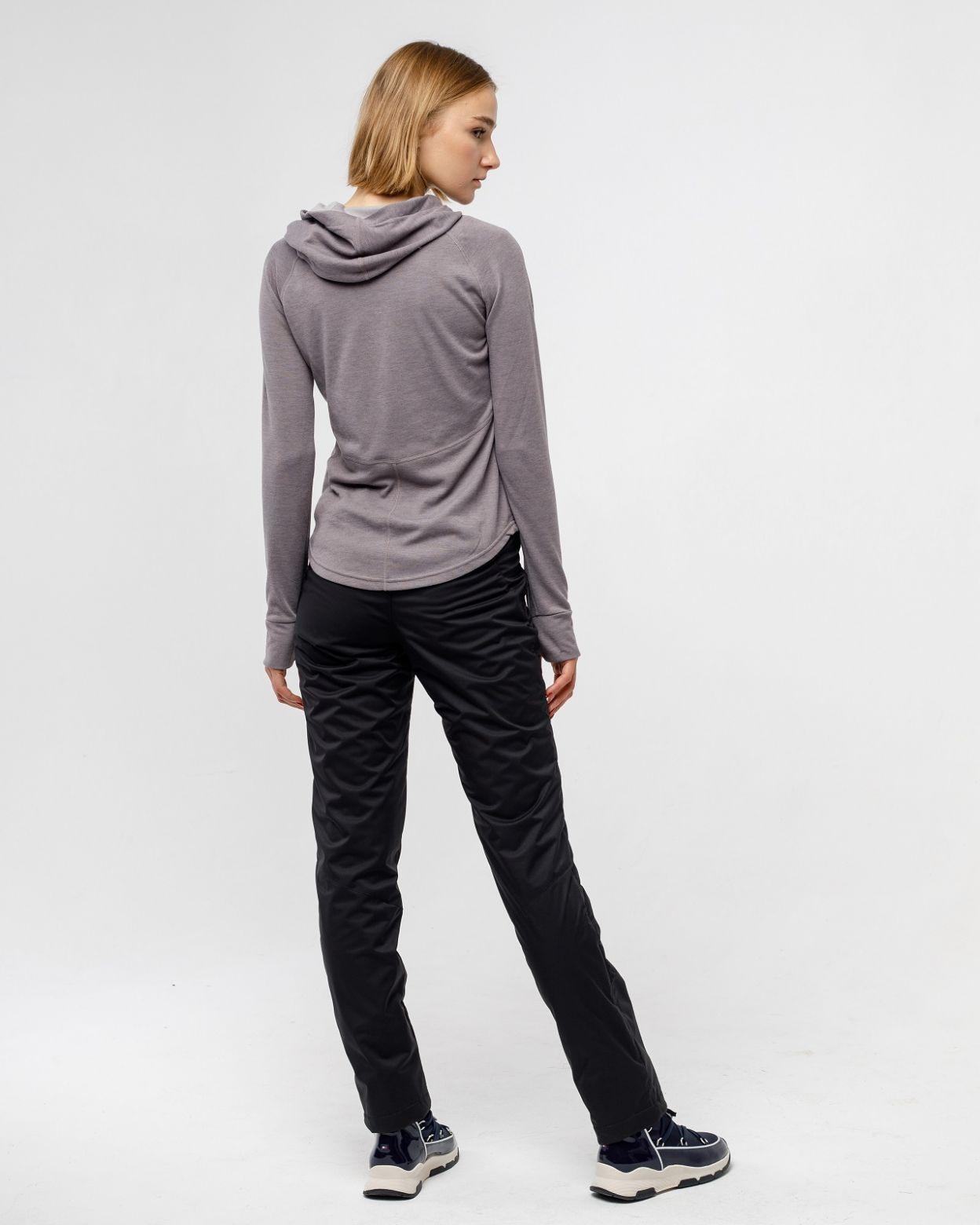 Флисовые брюки черный HEIDEN вид4