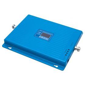 Трехдиапазонный усилитель (Репитер) сигнала Repeater DCS / 3G / 4G (1800MHz / 2100MHz / 2600MHz) КОМПЛЕКТ С КАБЕЛЕМ И АНТЕННАМИ