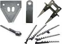 Сегменты, пальцы, ножи