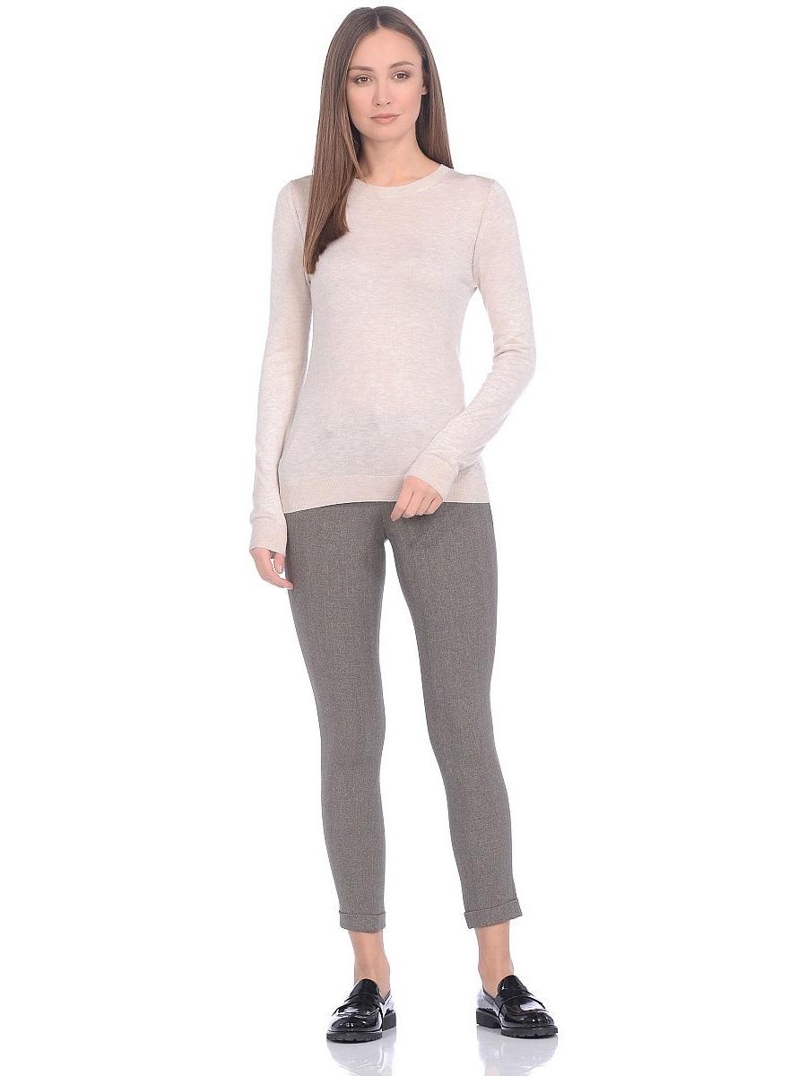 """Повседневные женские брюки выполнены из костюмной ткани с добавлением эластана. Выверенное лекало, подчеркнет все достоинства Вашей фигуры. Брюки дополнены удобными передними карманами, задние карманы """"обманки"""", также имеются шлевки для ремня. С"""