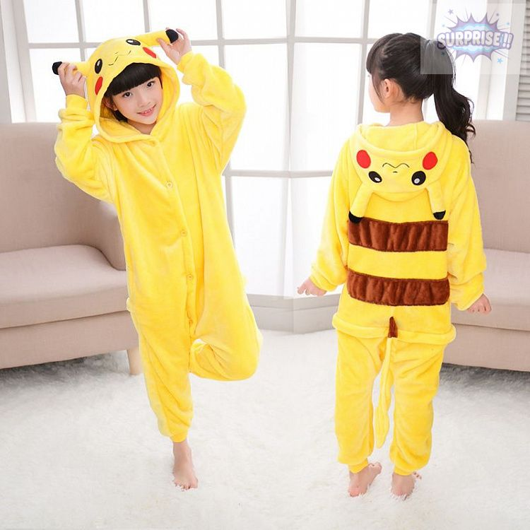 Кигуруми пижама-комбинезон Пикачу