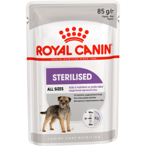 Консервы Royal Canin Sterilized Pouch Loaf паштет для стерилизованных собак 85 г