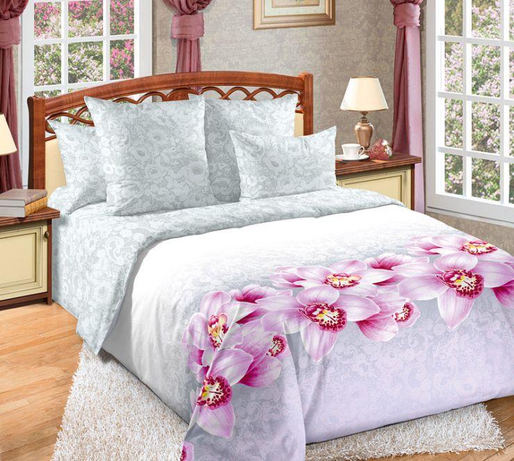 Аромат орхидей постельное белье Сатин