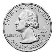Монета Quarter Dollar (2019) (оригинал)