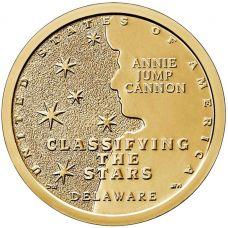 "1 доллар 2019г. Американские инновации ""Классификация звезд (Classifying The Stars)"" №2"