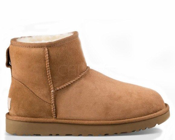 "UGG CLASSIC MINI II BOOT ""CHESTNUT"""