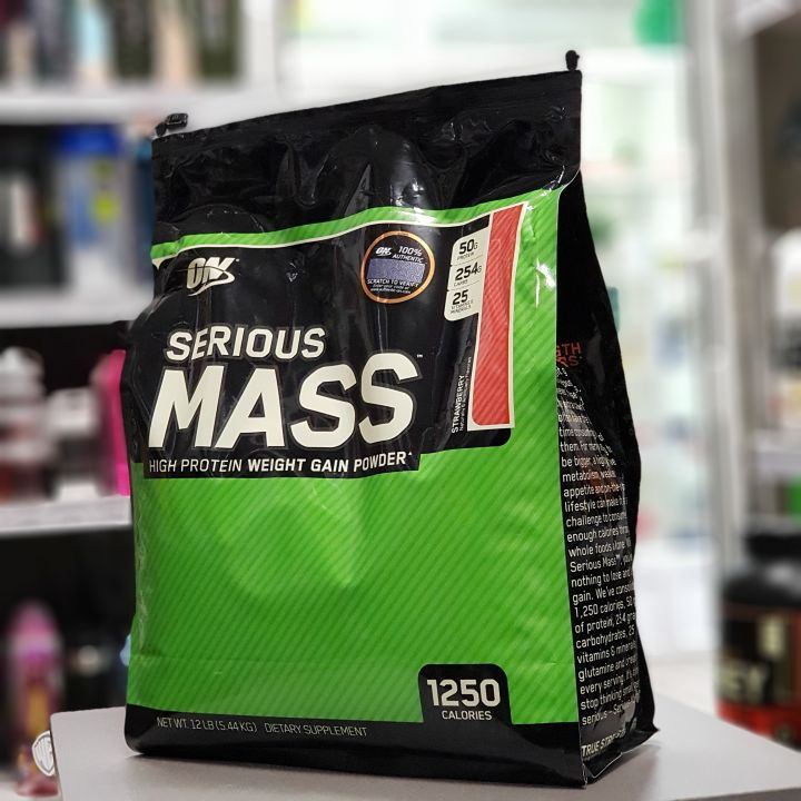 Optimum Nutrition - Serious Mass (12lb/5455 г)