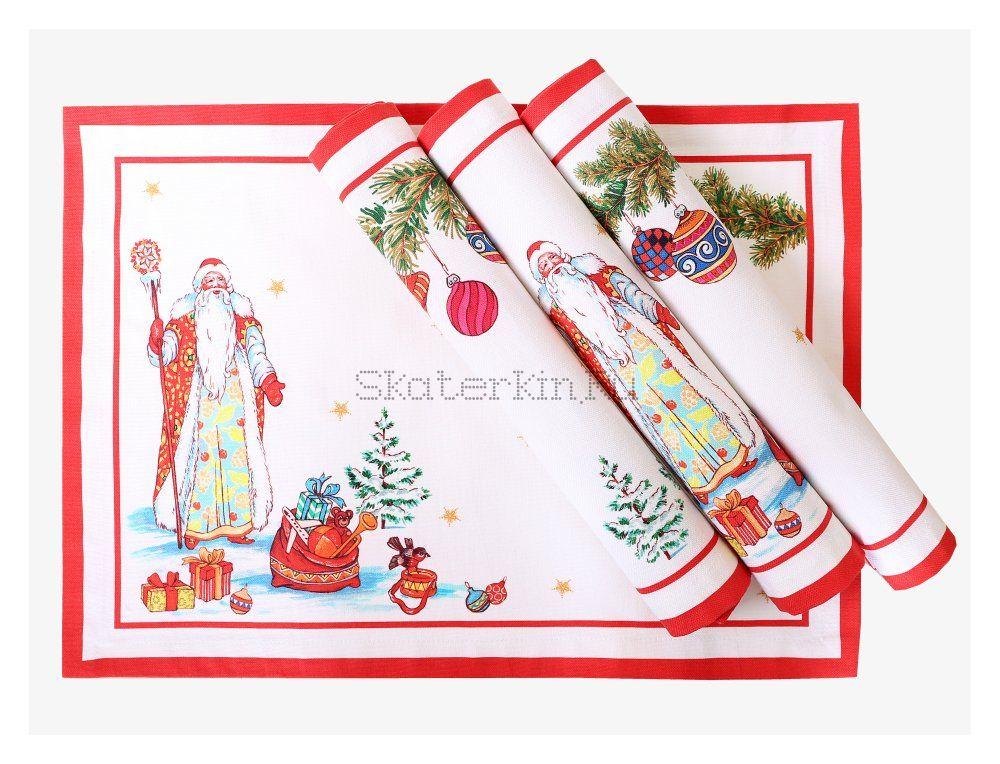 Салфетка Дед Мороз с подарками Kate