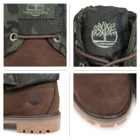 TIMBERLAND  ROLL-TOP BOOTS Brown Khaki