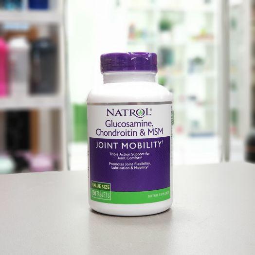 Natrol - Glucosamine-Chondroitin-MSM (150 таб)