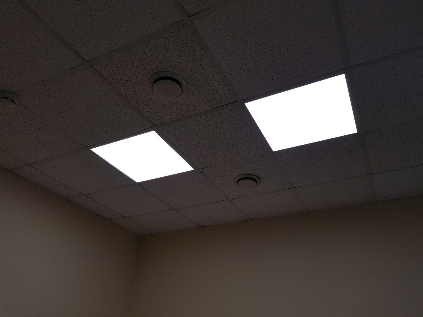 Светодиодный светильник Армстронг 595х595х40мм 72Вт 5000K IP54
