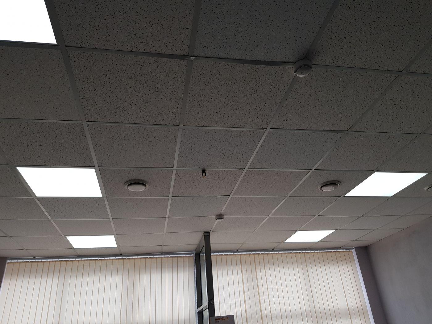 Светодиодный светильник Армстронг 595х595х40мм 72Вт 4000K IP54 с ЭМС