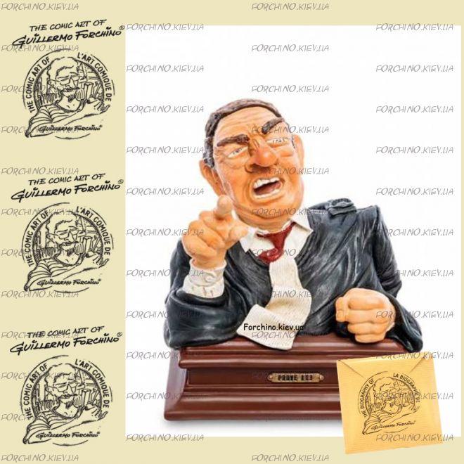 "Фигурка - бюст судья Докажите это! 85705 ""Lawyer bust. Forchino"""