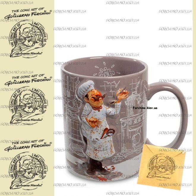 "Чашка повар 83001 ""Mug The Cook. Forchino"""